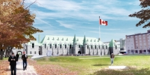 Reconstruction of the Grande Allée Armoury in Quebec City
